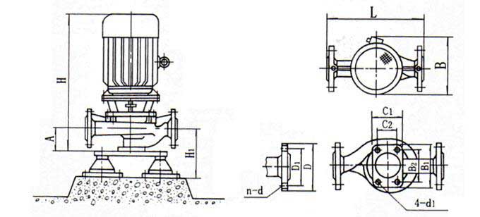 IRG型热水循环泵,IRG型,热水循环泵,热水管道泵,IRG热水管道泵